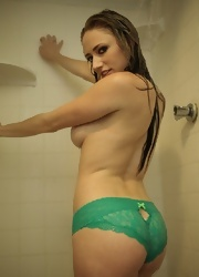 Lily Gets Clean In The Shower And Shows Off Her Sexy Body - Picture 4