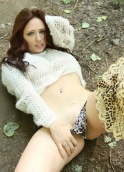 Lily Strips On Her Safari - Picture 12